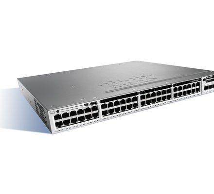 WS-C3850-48P-E Cisco 3850 48 Port PoE Switch