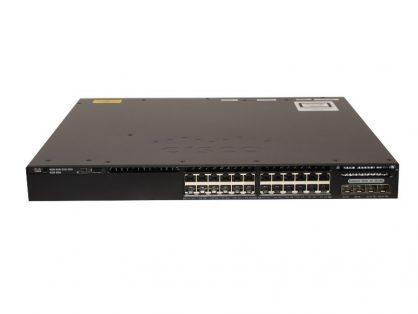 New WS-C3650-24TD-L Cisco Catalyst 3650 24 Port Data 2x10G Uplink