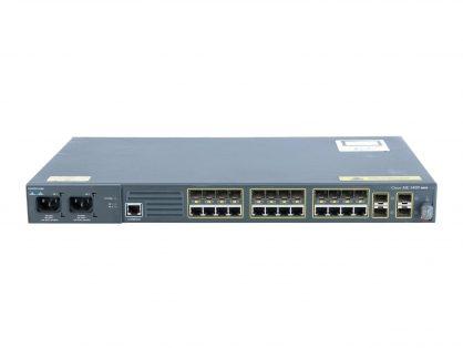 Cisco ME-3400EG-12CS-M 12-Port Gigabit or SFP 4x SFP Metro Switch ME34X-PWR-AC