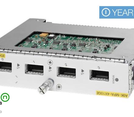 Cisco a9k A9K-MPA-4X10GE