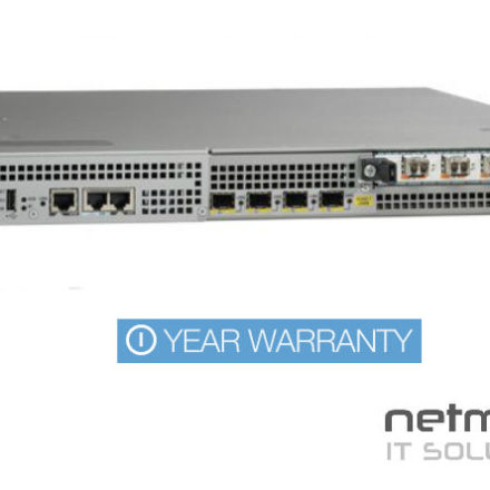 Cisco ASR1001 4 Port GigE Aggregation Services Router Dual
