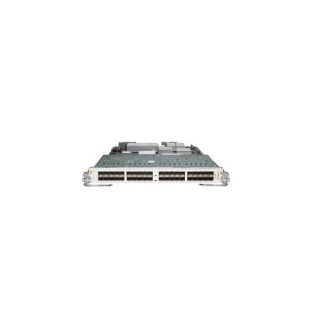 CISCO A9K-40GE-B V06 40-PORT SFP GE MEDIUM QUEUE ETHERNET LINE CARD ASR 9000