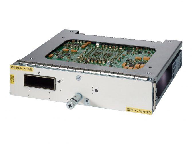 CISCO A9K-MPA-1X100GE ASR 9000 1-PORT 100-GIGABIT ETHERNET MODULAR PORT ADAPTER