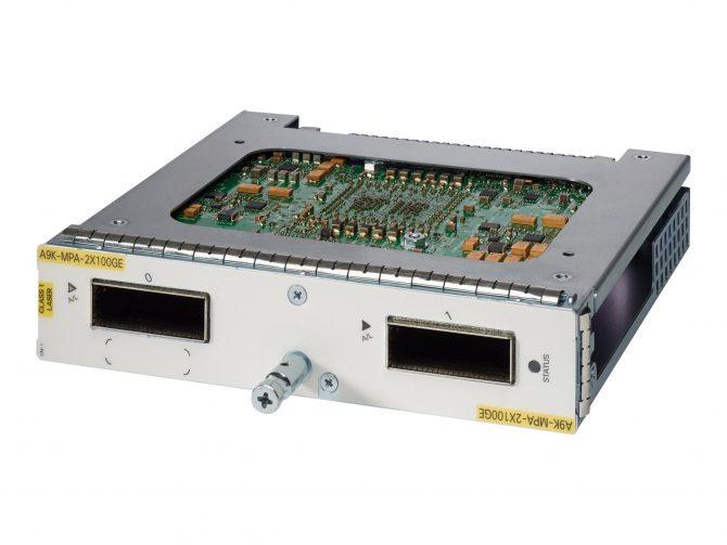 CISCO CISCO A9K-MPA-2X100GE MODULE 2-PORT 100-GIGABIT PORT ADAPTER ASR 9000