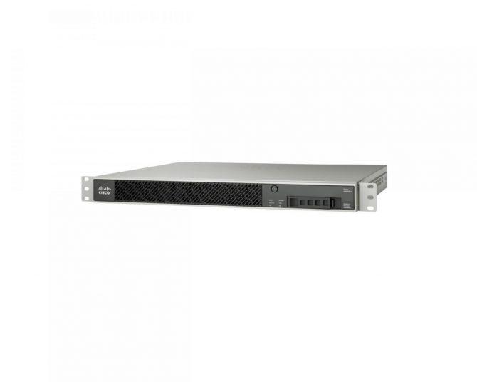 NEW Cisco ASA5512-FPWR-K9 Sec Firewall FirePOWER Services SSD120 6GE Data 5512-X