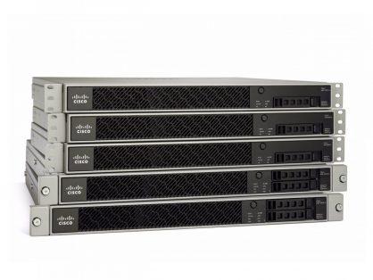 New Cisco ASA5545-FPWR-K9 ASA5545-X w/ FirePOWER 8GE Data 3DES/AES