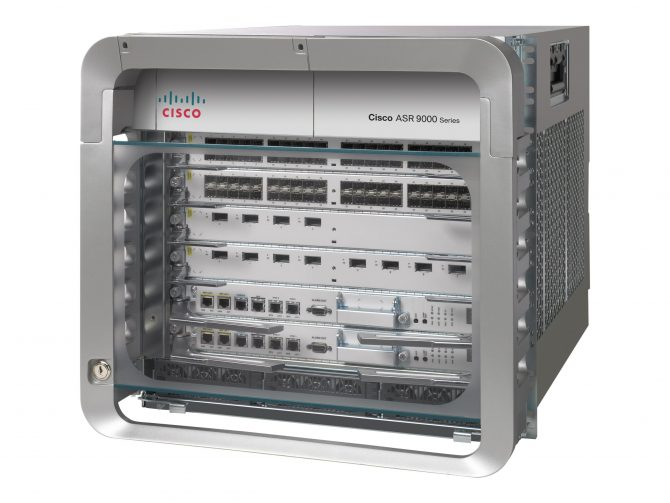CISCO ASR-9006-AC AGGREGATION SERVICES ROUTER CHASSIS 3X A9K-3KW-ACARRA