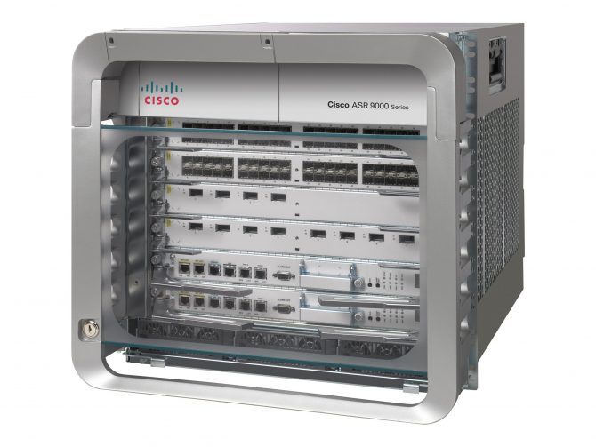 NEW CISCO ASR-9006-DC-V2 ASR 9006 DC CHASSIS WITH PEM VERSION