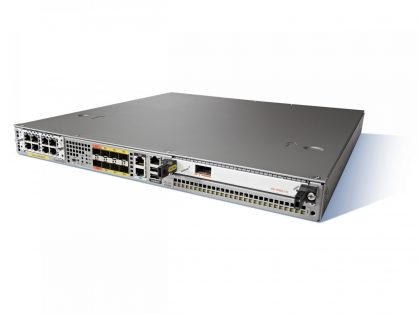 CISCO ASR1001-X ASR1001X-5G-K9 6 GE 4GB DRAM 2 ASR1001-PWR-AC L-SLASR1-AES
