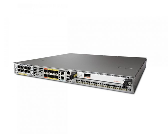New Cisco ASR1001X-2.5G-K9 Router 6-built-in GE ports w/ Dual PWR ASR1001-X