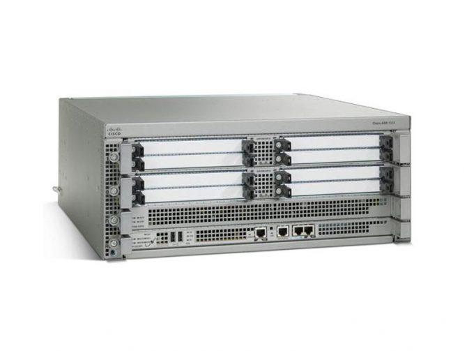 CISCO ASR1001X-20G-VPN ASR1001-X ROUTER 8GB DRAM DUAL AC POWER