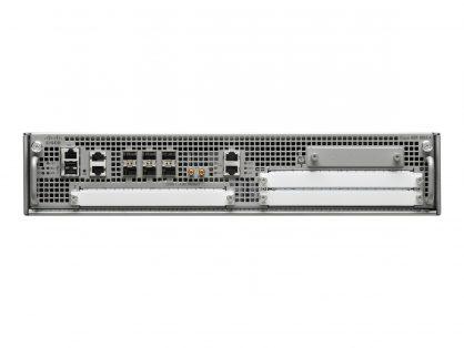 New ASR1002 Cisco ASR1000-series router, QuantumFlow processor, 2.5G system bandwidth, WAN aggregation, SPA slot, SIP10, OTV, VPL, LISP, RP1