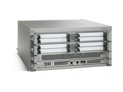 NEW CISCO ASR1000 V02 SERIES ASR1004= ROUTER CHASSIS 2 POWER SUPPLY COUPADFBAB
