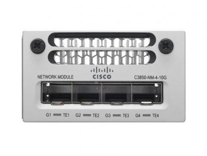 New Cisco C3850-NM-4-10G Network Module 4x 10-Gigabit SFP 3850 Series