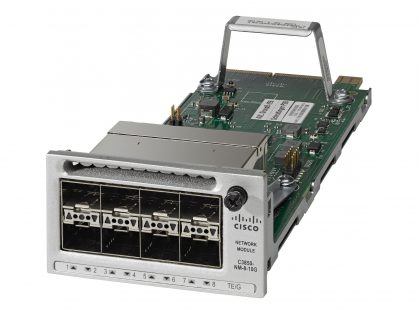 NEW Cisco C3850-NM-8-10G Network Module 8x 10GE 8x 1GigE – Fast Shipping