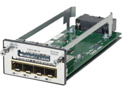 Cisco C3KX-NM-1G 4-Port 1 Gigabit SFP Network Module