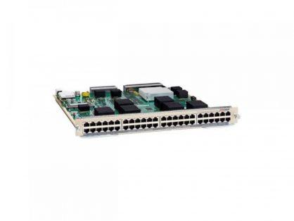 Cisco C6800-48P-TX-XL C6k Switch Module 10/100/1000 GE Mod:fab enabled