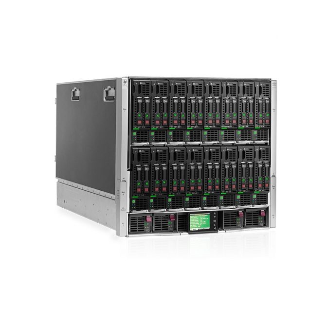 HP PROLIANT C7000 W/ 8X WS460C G8 W/ PCIE EXP 2X E5-2660V2 8GB 2X 960GB
