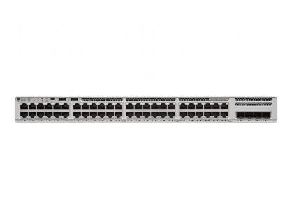 CISCO C9200L-48P-4G-E 48-PORT POE+ SWITCH NETWORK ESSENTIALS NM-4G INCLUDED
