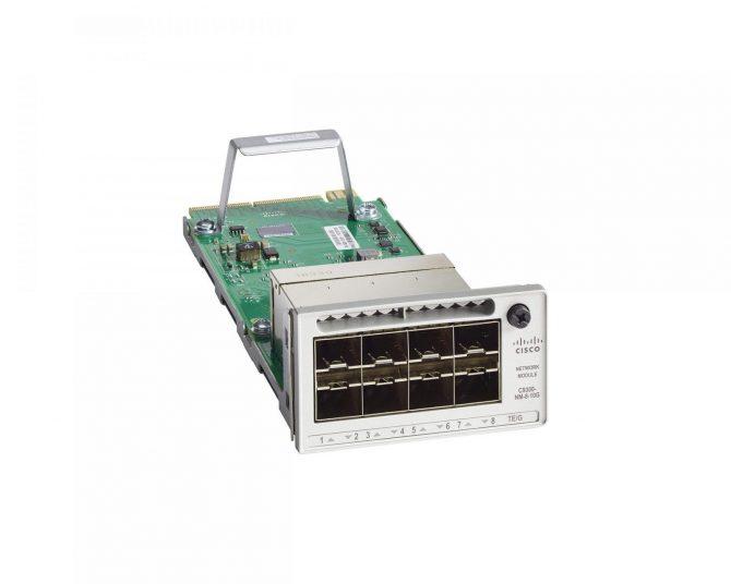 Cisco C9300-NM-8X Catalyst 9300 8 x 10GE Network Module
