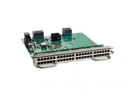 CISCO C9400-LC-48U CATALYST 9400   48 UPOE PORTS LINE CARD   FOR C9407R & C9410R