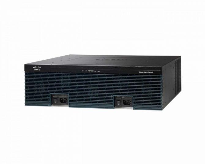 New CISCO3945E-V/K9 Cisco 3945E Voice Bundle, PVDM3-64, UC License PAK