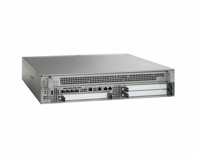 Cisco ASR1002-X Agg. Services Router System, Crypto, 6 Built-In GE, Dual AC PWR-refurbished