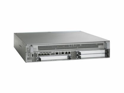 Cisco ASR1000 ASR1002-HX Router 4x10GE+4x1GE, 2AC Power Supplies- Refurbished