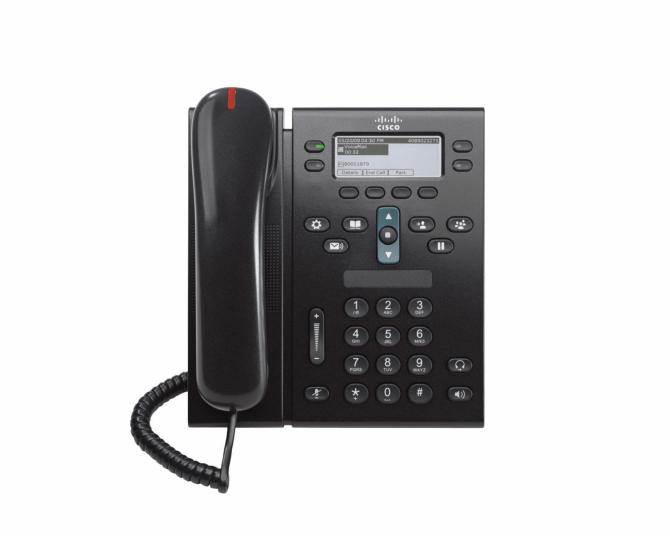 NEW Cisco CP-6941-C-K9 VoIP IP Cisco Unified IP Phone