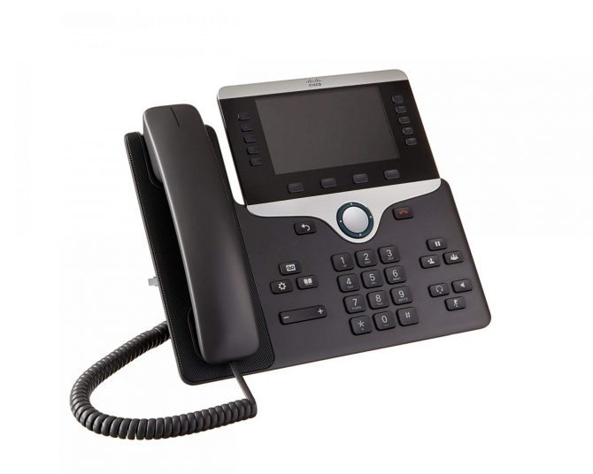 Cisco CP-8841-K9 VoIP IP PoE Color LCD Display Phone 8841