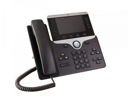 Cisco CP-8851-K9 VoIP IP PoE Color LCD Display Phone + CP-BEKEM Expansion Module-refurbished