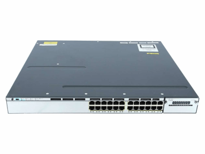 NEW CISCO WS-C3750X-24P-E Catalyst 3750X 24 Port PoE IP Services - 1YR