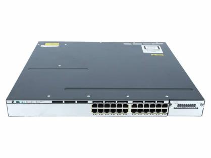 NEW Cisco WS-C3750X-24S-E Catalyst 3750X 24 Port GE SFP IP Services