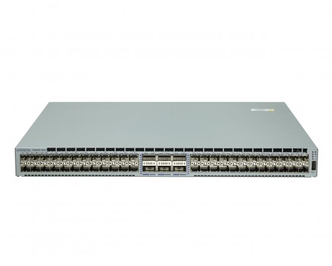 Arista DCS-7280SR-48C6-R 48x 10GbE SFP+ 6x 100GbE QSFP Switch R-F Airflow