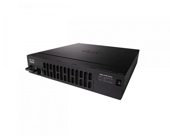 NEW CISCO ISR4351/K9 ISR 4351 Security GE PoE Router - SmartNet Ready