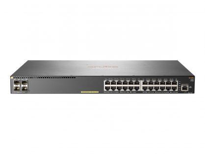 NEW HPE / ARUBA 2540 24G POE+ 4SFP+ HP FACTORY RENEW 99YR HP DIRECT JL356A
