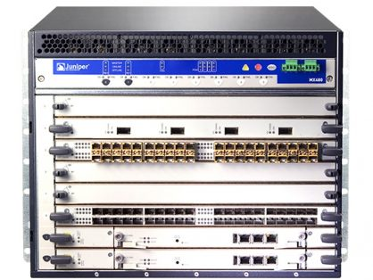 NEW JUNIPER MX480-PREMIUM2-DC / RES-1800X4-16G-BB SCB-MX960-BB MPC2-3D 4X10G 20X1G