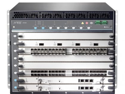 NEW JUNIPER MX480 WITH 2 X SCBE3 AND 2 X RE-S-X6-64G