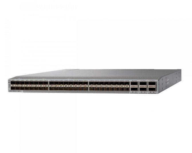 New Cisco N9K-C93108TC-FX Nexus 9300 with 48p 10G BASE-T and 6p 40G/100G QSFP28