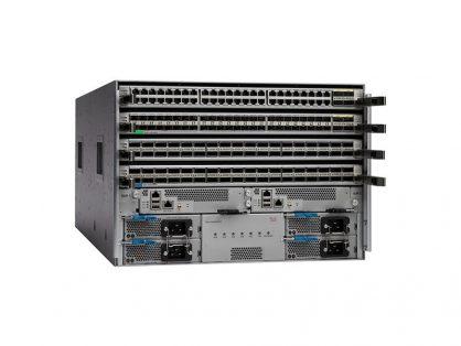 CISCO NEXUS 9504 SWITCH CHASSIS W/ 6 N9K-C9504-FM N9K-C9504-B2