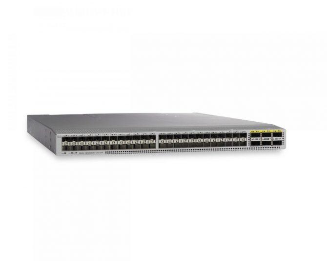 Cisco Nexus N9K-C9372PX-E 48 x 1/10-Gbps Switch