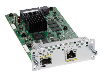 NEW CISCO NIM-1GE-CU-SFP 1-PORT GE/SFP FOR ISR 4000 AND 4300 SERIES
