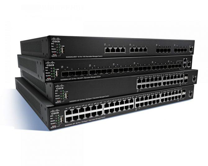 New Cisco SG500-52P-K9-NA 48 Port Gigabit Ethernet PoE+ Switch 2xGE/2x5GE SFP SG500 52P