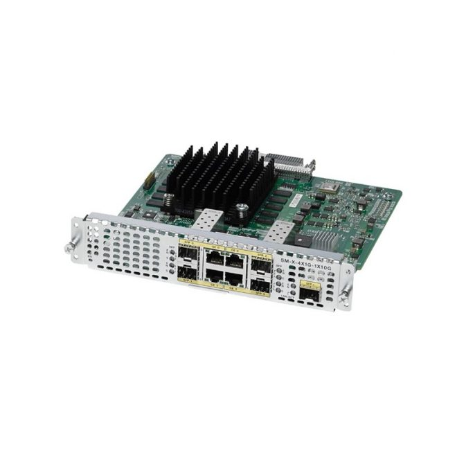 CISCO 4PT DUAL-MODE GE/SFPOR1PTX10G SM-X-4X1G-1X10G