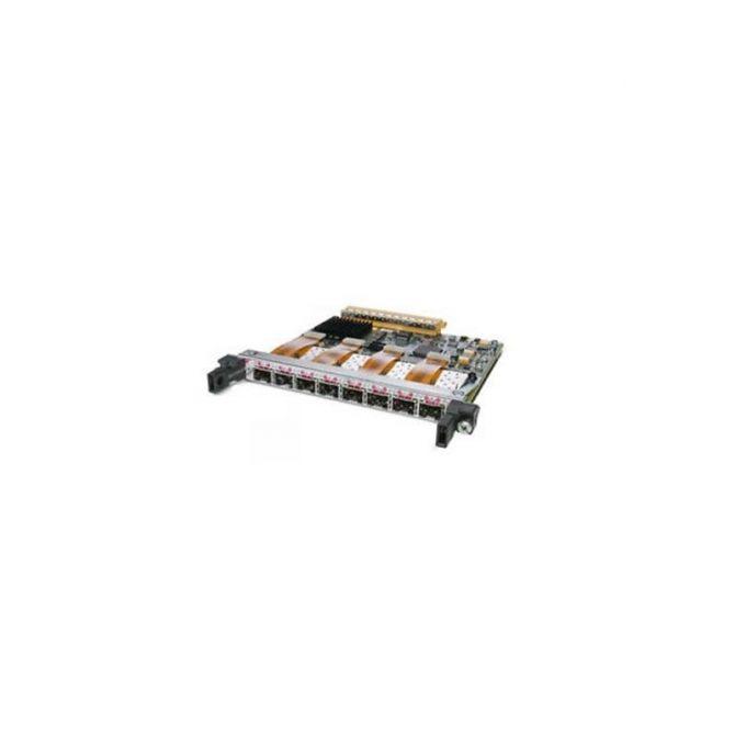 CISCO SPA-8XOC12-POS 8-PORT SHARED ADAPTER W/ 8X SFP-OC12-MM
