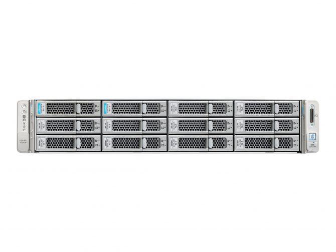 NEW CISCO BE7M-M5-K9 UCSC-C240-M5 2U SERVER 7000M 2.6GHZ CPU RAM 96GB HDD 4200GB