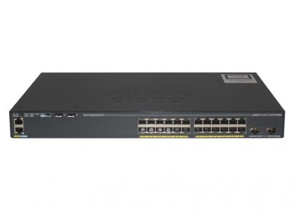 CISCO CATALYST WS-C2960X-24TD-L 2 X 10G SFP+ LAN BASE 2960-X 24 GIGE