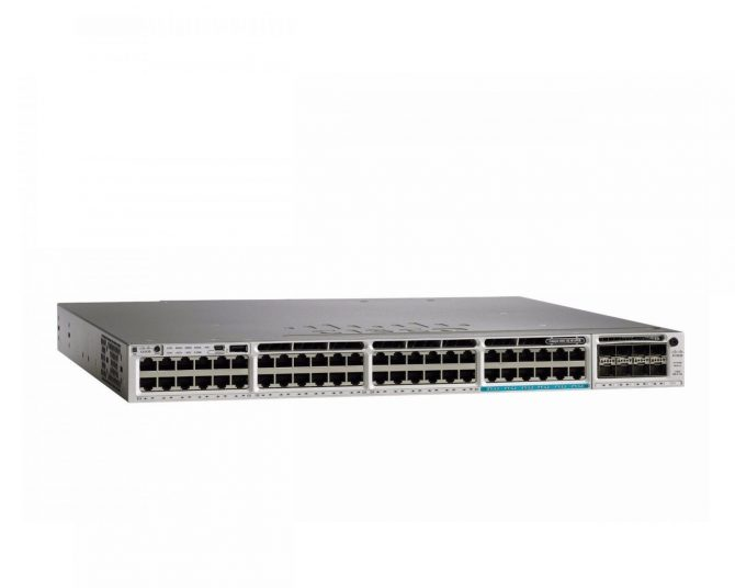 New Cisco WS-C3850-12X48U-E Switch 48 Port GE IP Enterprise Feature Set
