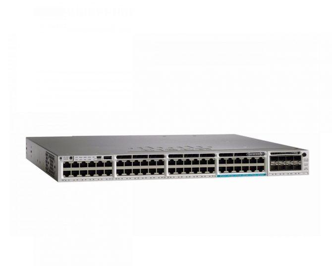 New Cisco WS-C3850-12X48U-L Switch 48 Port GE Lan Base Feature Set