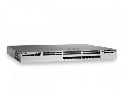Cisco WS-C3850-12XS-S Switch 12 Port GE SFP+ IP Base 350WAC Power